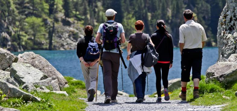 Séjour randonnée domaine de pyrene Cauterets pont d'espagne