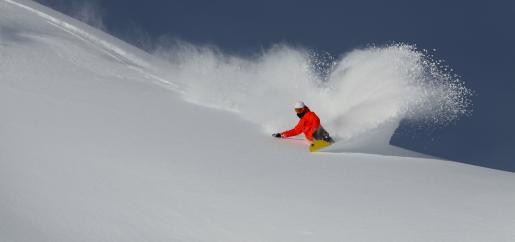 Snowboard au cirque du lys