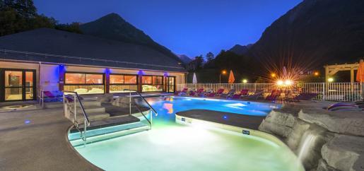 Les bains de Pyrene