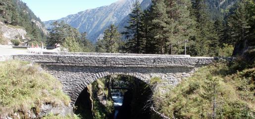 Le pont d'espagne